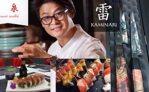 Alon Than i noże Kaminari
