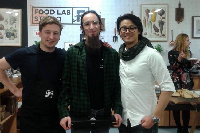 Chefs Afer Hours w Food Lab Studio